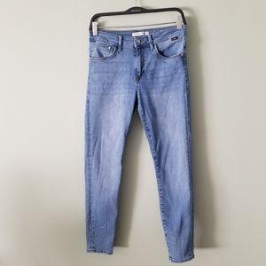 Mavi Alissa ankle high-rise super skinny jeans 29